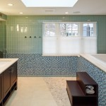 Modern Bathroom with Subway Tile | Cardoso Electrical Services