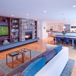 Living Room with Hardwood Floor | Cardoso Electrical Services
