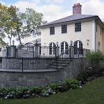 Large Stone Porch | Cardoso Electrical Services
