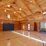 Home Basketball Court | Cardoso Electrical Services