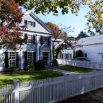 Traditional Home with White Picket Fence | Cardoso Electrical Services