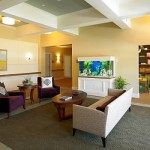 Waiting Room with Aquarium | Cardoso Electrical Services